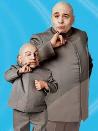 Picture of Dr. Evil and Mini-me